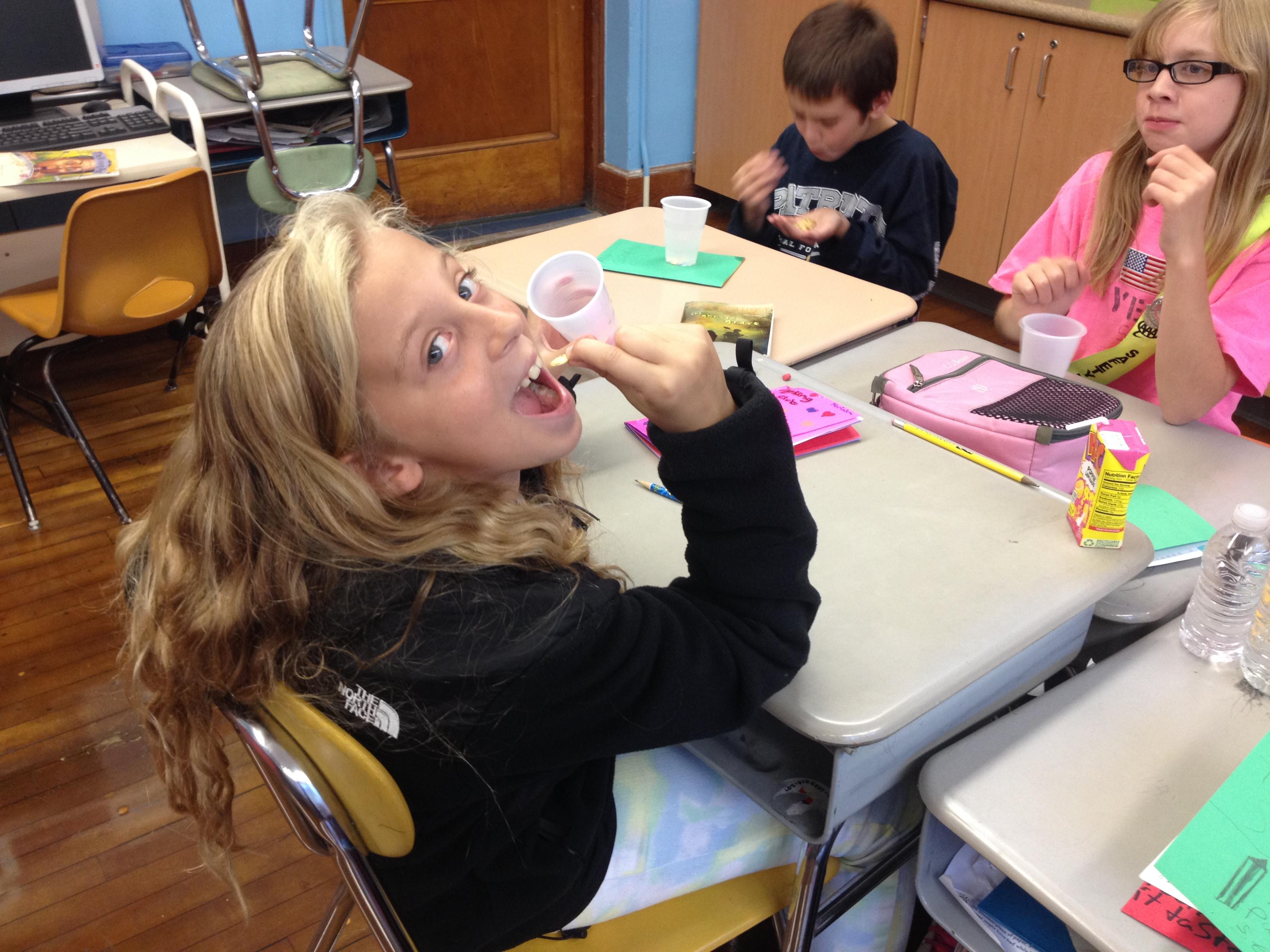 mariah tasting seeds