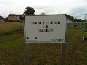 barnum sign