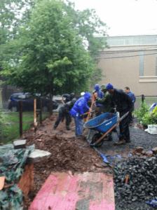 New Haven rain garden