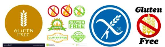 Gluten free logos