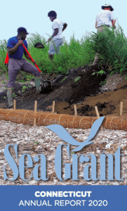 Men shoveling-CTSG 2020 annual report cover