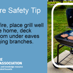 Grilling Fire Safety Tip