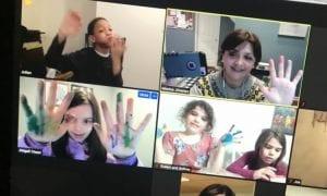 Monica Jimenez's group zoom meeting