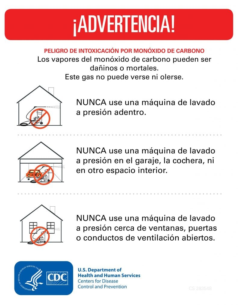 red and black text with pictures of houses and CDC logo